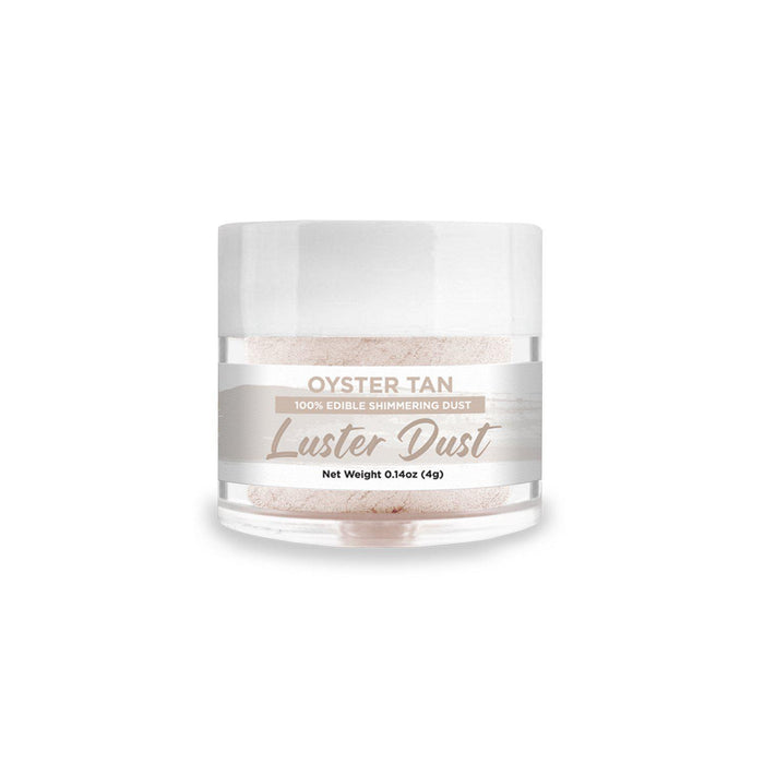 Oyster Tan Edible Pearlized Luster Dust-Luster Dusts-Bakell
