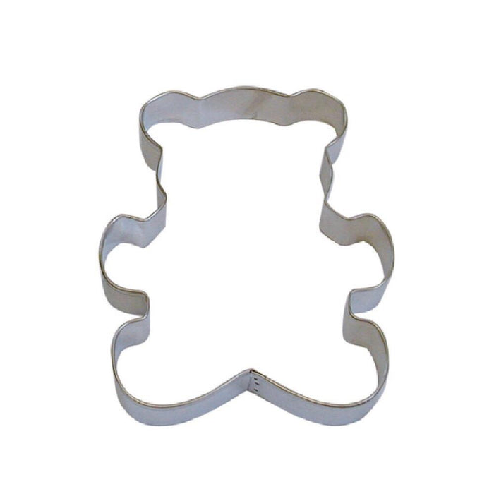 "5"" Teddy Bear Metal Cookie Cutter-Cookie Cutters-Bakell"
