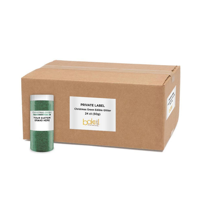 Christmas Green Tinker Dust by the Case | Private Label-Private Label_Tinker Dust-Bakell