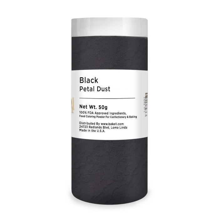 Black Petal Dust | Food Coloring Powder-Petal Dusts-Bakell