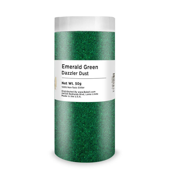 Emerald Green Dazzler Dust | Bulk Sizes-Bulk_Dazzler Dust-Bakell