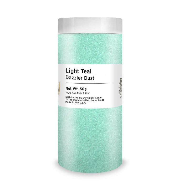 Aquamarine Blue Dazzler Dust | Bulk Sizes-Bulk_Dazzler Dust-Bakell