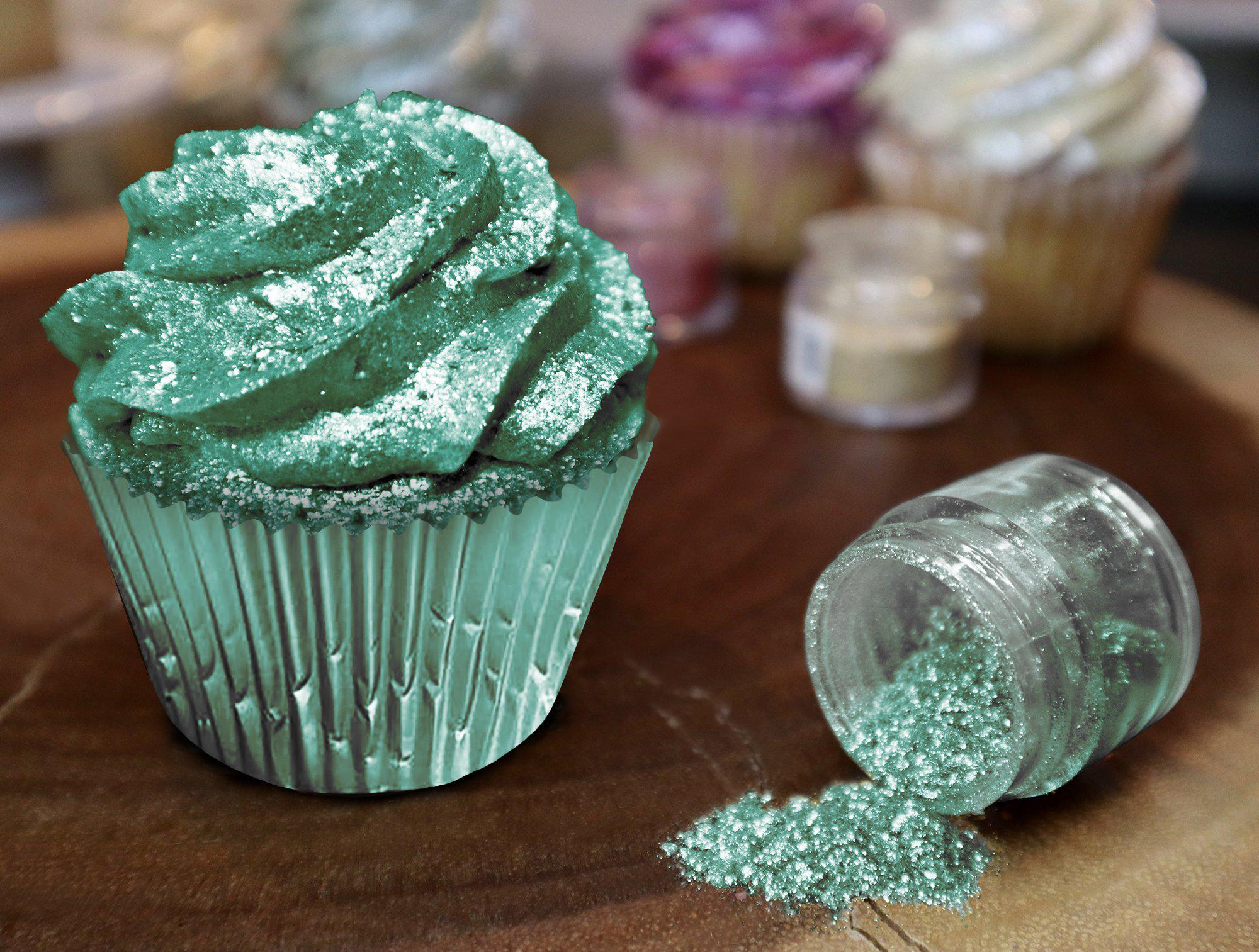 Emerald Green Tinker Dust Food Grade Edible Glitter, 5g | Food Grade Glitter-Tinker Dust-Bakell