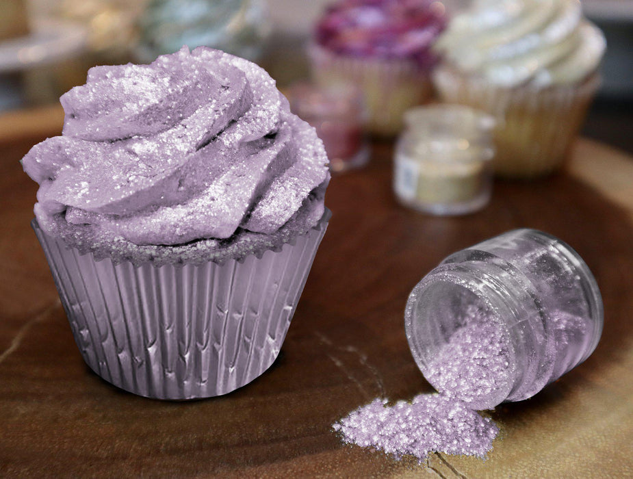 Lilac Purple Edible Glitter | FDA Approved Glitter Ingredients | 100% Edible Glitter | Tinker Dust Glitter | Bakell.com