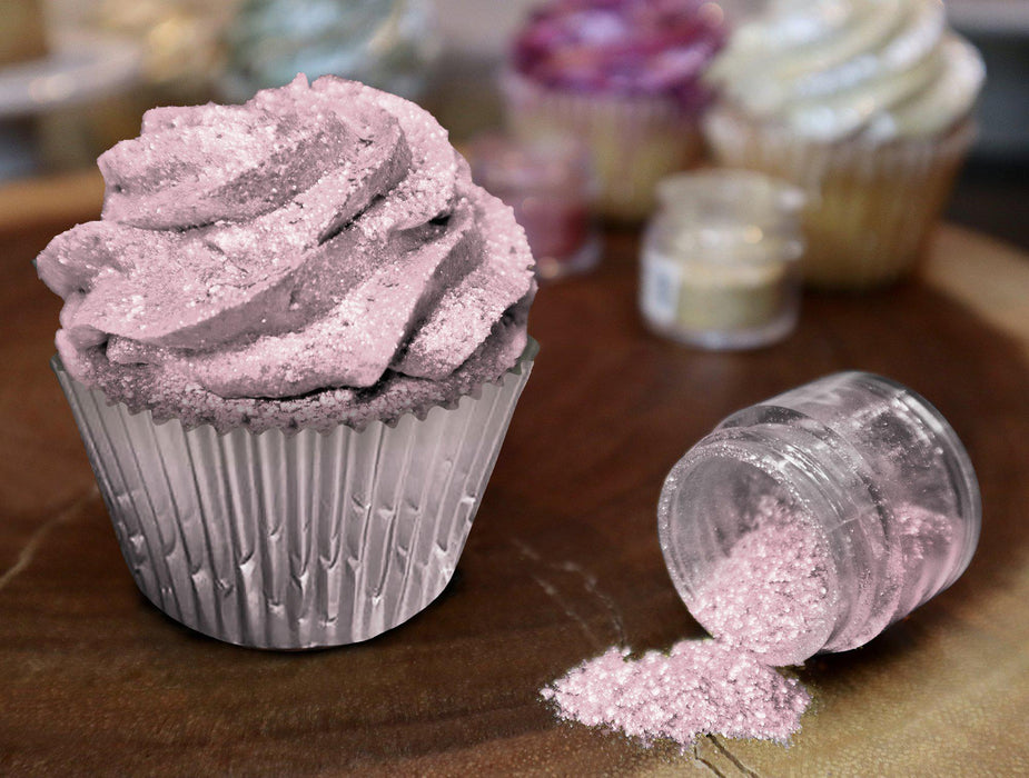 Baby Shower & Gender Reveal Edible Glitter Combo Pack | FDA Approved Edible Glitter | Pink, Blue Edible Glitter | Tinker Dust Edible Glitter Pack | MICA Edible Powder | Bakell.com