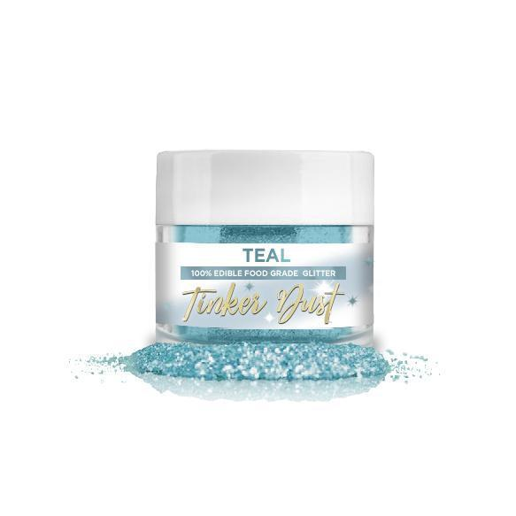Teal Blue-Green Tinker Dust, 5g | #1 Site for Edible Glitter & Dust