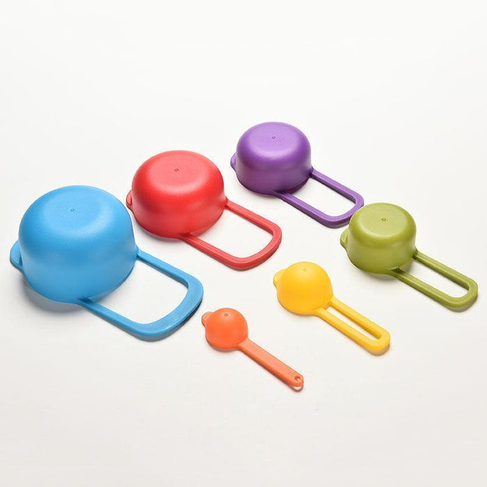 6 Nested Measuring Cups and Spoons-Baking Supplies-Bakell- | Bakell.com