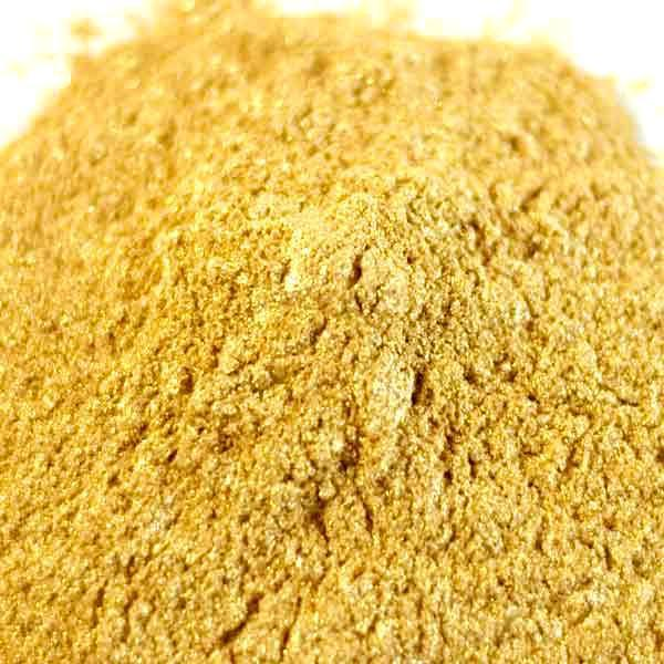 Edible Egyptian Gold Luster Dust | FDA Approved Glitter & Kosher Certified Glitter | Edible Gold Paint | Pink MICA Powder | Bakell.com