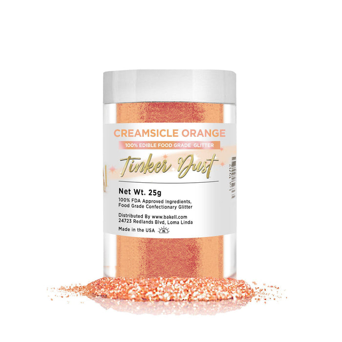 Creamsicle Orange Tinker Dust | Bulk Sizes-Bulk_Tinker Dust-Bakell