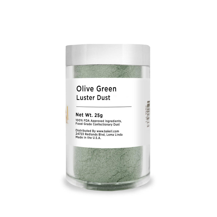 Olive Green Edible Luster Dust | Bulk Sizes-Bulk_Luster Dust-Bakell