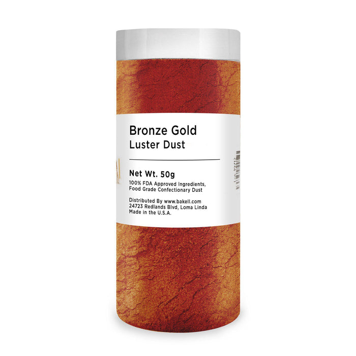Bronze Gold Edible Luster Dust | Bulk Sizes-Bulk_Luster Dust-Bakell