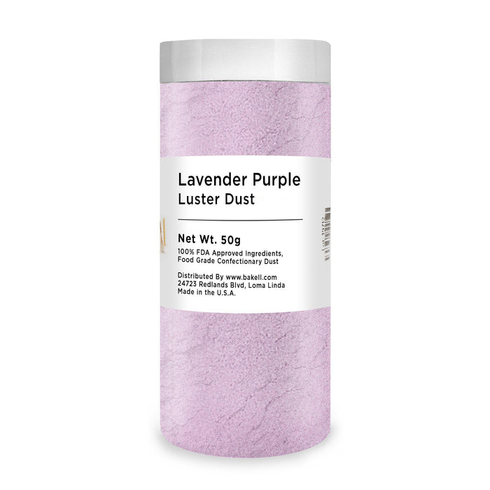 Lavender Purple Edible Luster Dust | Bulk Sizes-Bulk_Luster Dust-Bakell