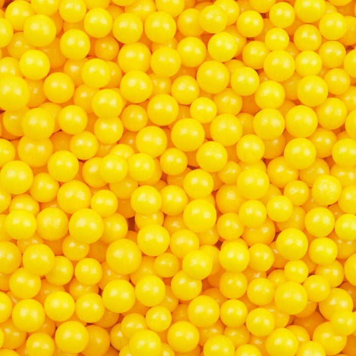Yellow 4mm Beads-4mm Beads_Sprinkles-Bakell