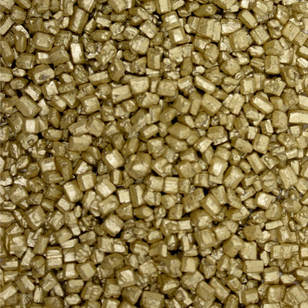 Brass Pearl Sugar Rocks Edible Sprinkles-Sugar Sand_Sprinkles-Bakell