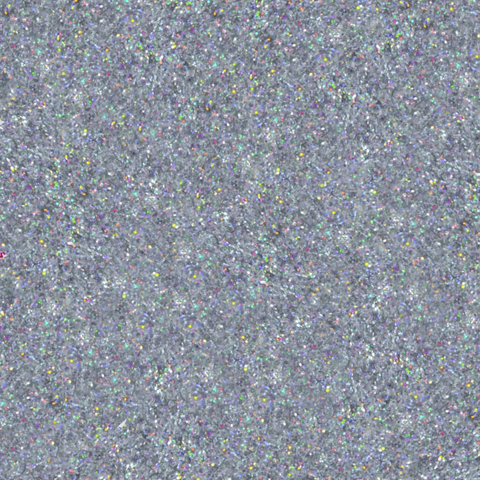 Silver Hologram Dazzler Dust | Bulk Sizes-Bulk_Dazzler Dust-Bakell