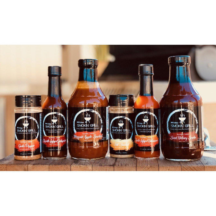 Father's Day BBQ Marinade Gift Set | 6 Award Winning BBQ Sauces, Hot Sauces & Dry Rubs-Gifts-BBQthingz- | Bakell.com