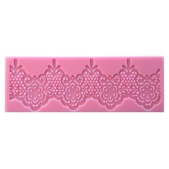 Beautiful Silicone Victorian Lace Decorating Mat | Bakell-Silicone Molds-Bakell- | Bakell.com