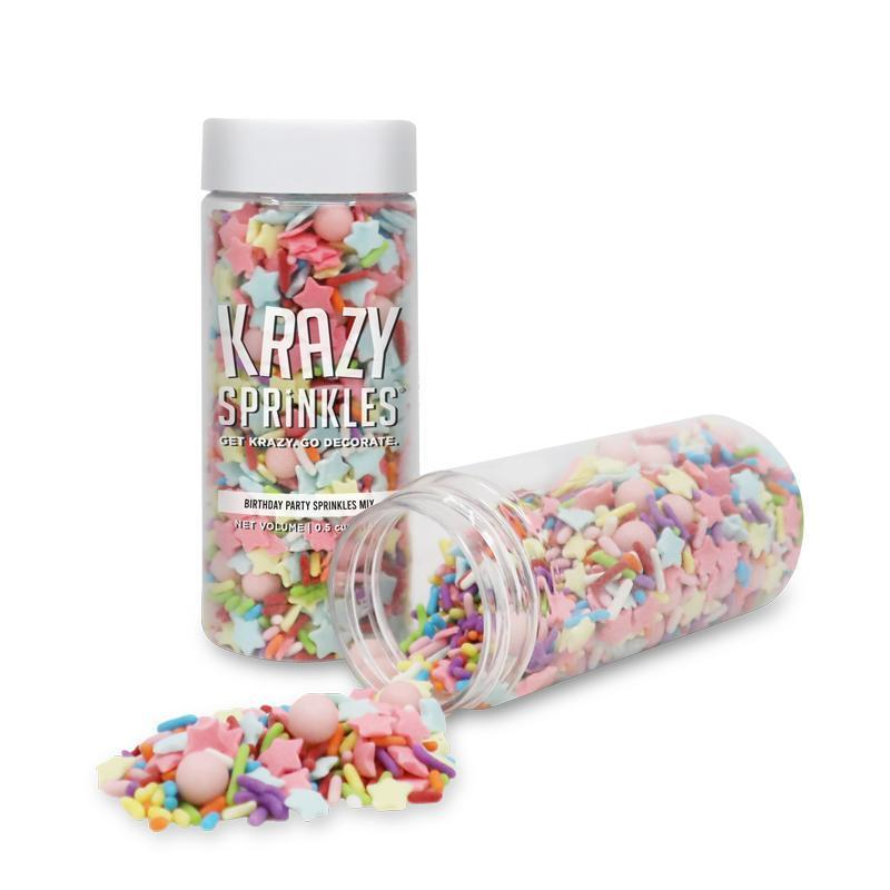 Birthday Party Sprinkles Mix by Krazy Sprinkles® | Bakell.com
