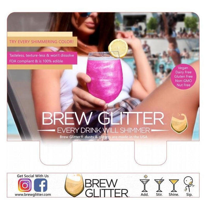 Brew Glitter® POS Re-seller & Retailer Program | Bakell.com