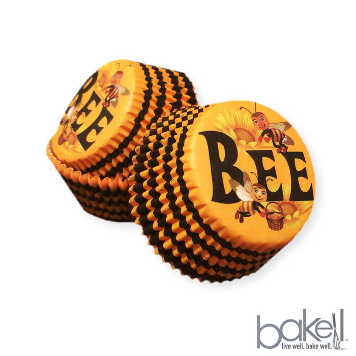 Bumble Bee Hive Cupcake Wrappers & Liners | Bakell.com