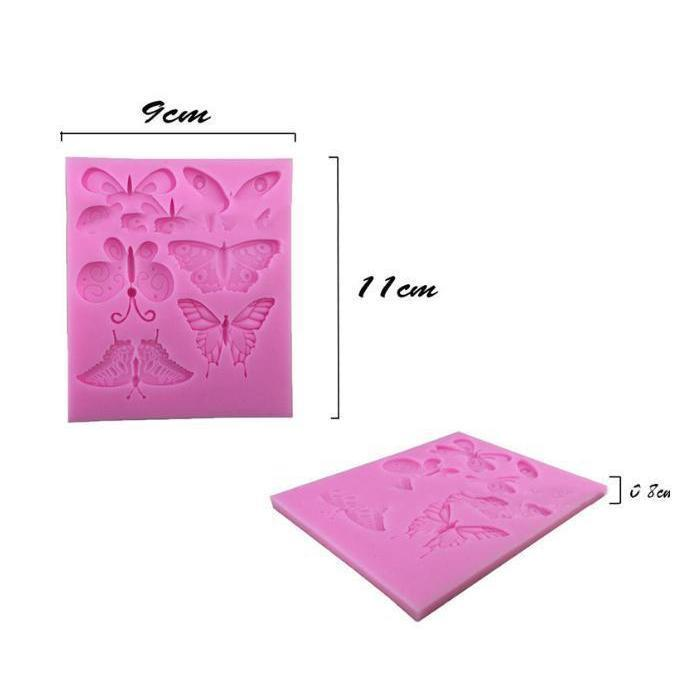 Butterflies Silicone Mold | Bakell-Silicone Molds-Bakell- | Bakell.com