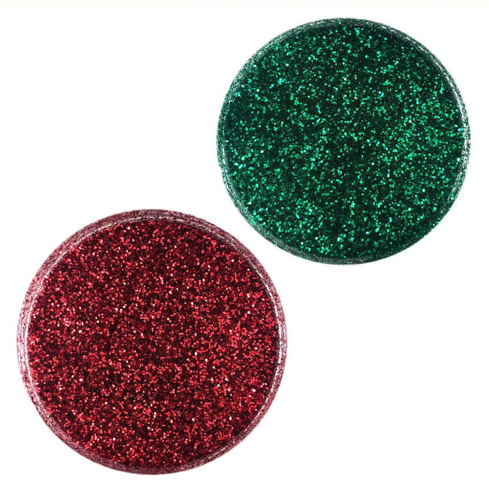 Christmas Green & Red Decorating Dazzler Dust 2 Jar Set, each 5g | Bakell.com
