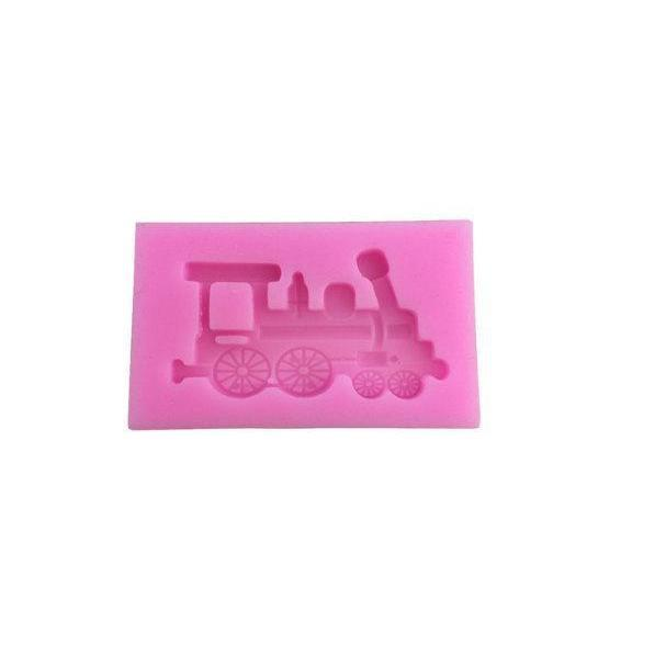 Classic Steam Toy Train Engine Silicone Mold | Bakell-Silicone Molds-Bakell- | Bakell.com