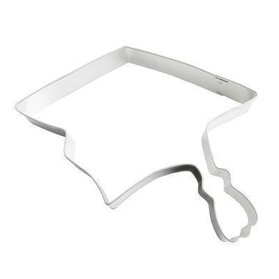Cookie Cutter - Graduation Hat-Cookie Cutters-Bakell- | Bakell.com