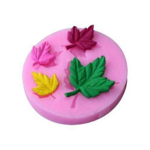 Fall Maple Leaf Silicone Mold - 3 inch wide-Silicone Molds-Bakell- | Bakell.com