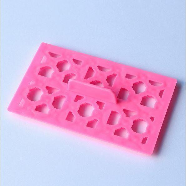 Fashion Brand Print Square Impression Embossing Small Pattern Stamp-Decorating Tools-Bakell- | Bakell.com