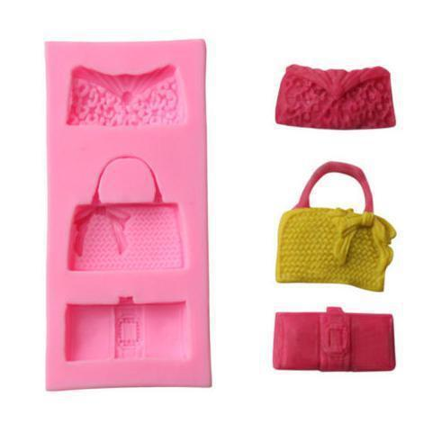 Fashion Purse Silicone Mold-Silicone Molds-Bakell- | Bakell.com