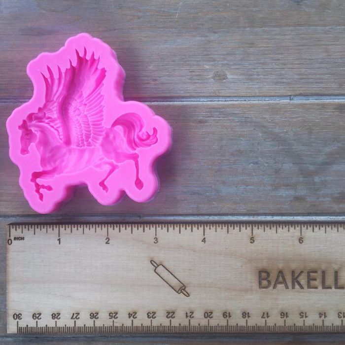 Flying Pegasus Horse Bakers Silicone Mold-Silicone Molds-Bakell- | Bakell.com
