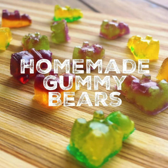 Homemade Gummy Bear Making Kit Silicone Mold and Dropper - Pink-Silicone Molds-Bakell- | Bakell.com