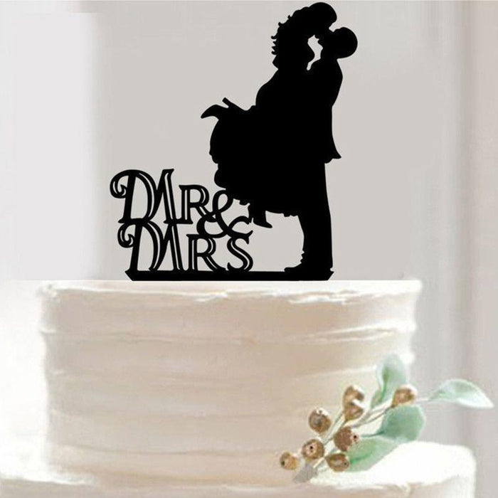 Kiss Love - Wedding Cake Topper-Cake Toppers-Bakell- | Bakell.com