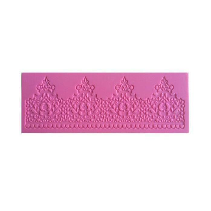Lace Decorating Silicone Mat-Silicone Molds-Bakell- | Bakell.com