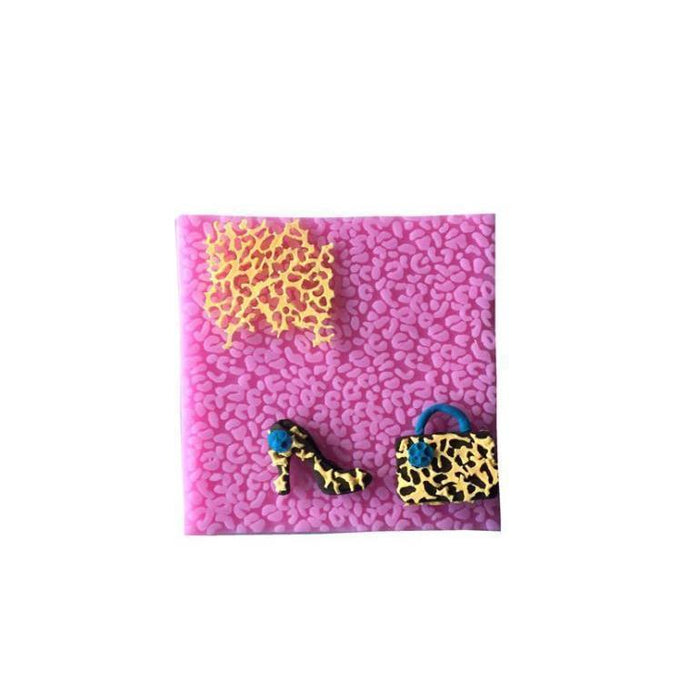 Leopard Animal Print Decorating Silicone Mold-Silicone Molds-Bakell- | Bakell.com
