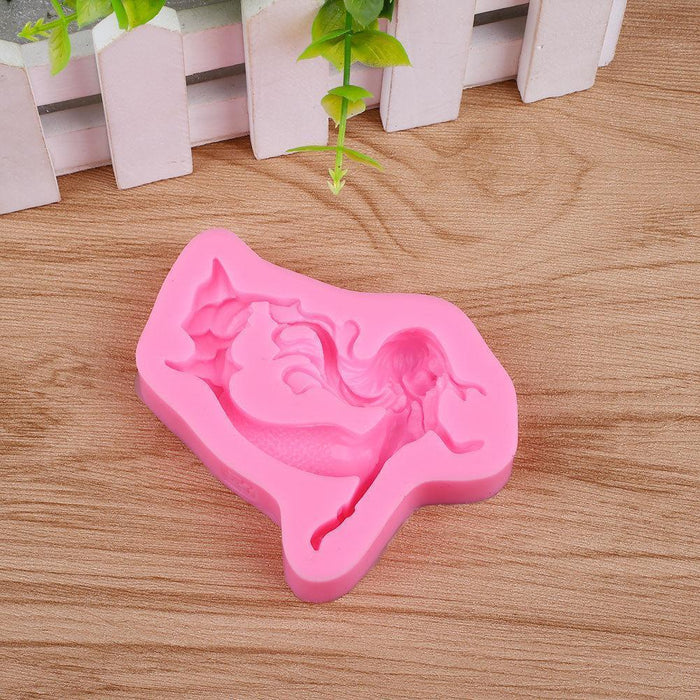 Mermaid Silicone Mold-Silicone Molds-Bakell- | Bakell.com