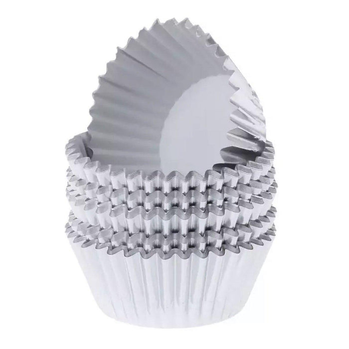 Metallic Silver Liners & Wrappers| Bulk & Wholesale | Bakell.com