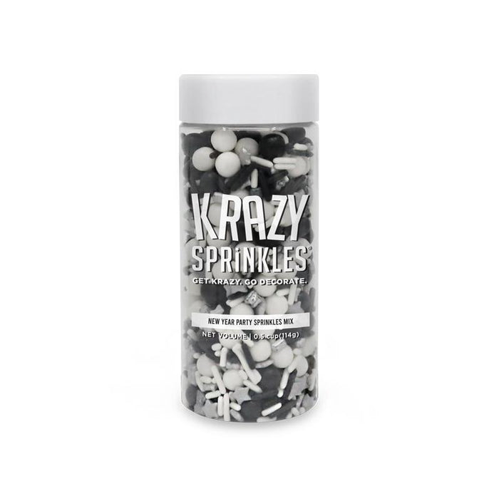 New Years Party Sprinkles Mix by Krazy Sprinkles® | Bakell.com