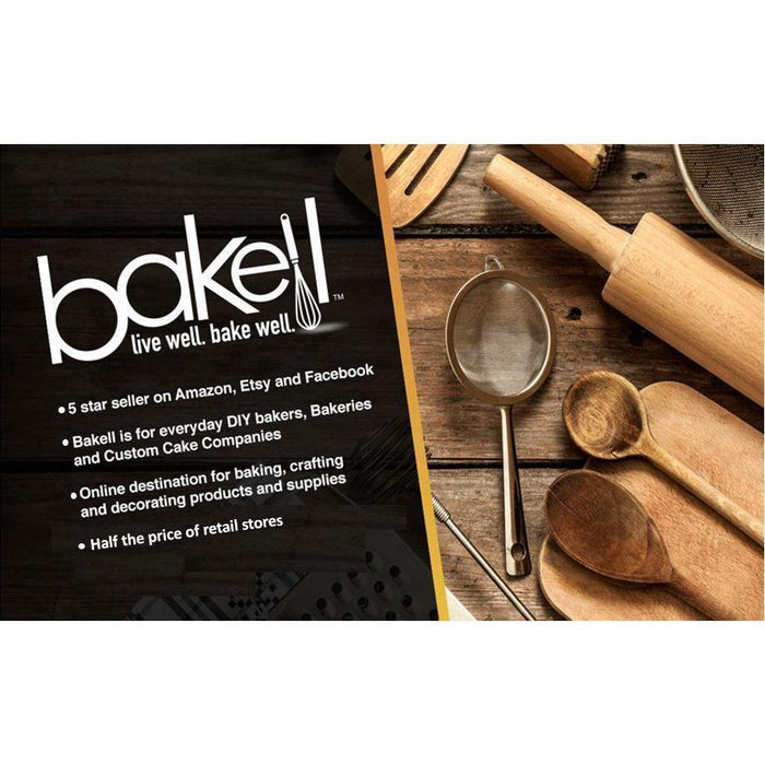 Oval Pattern Square Impression Embossing Small Stamp-Decorating Tools-Bakell- | Bakell.com