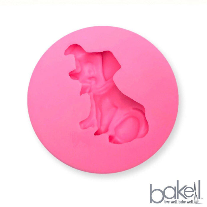 Puppy Silicone Mold-Silicone Molds-Bakell- | Bakell.com