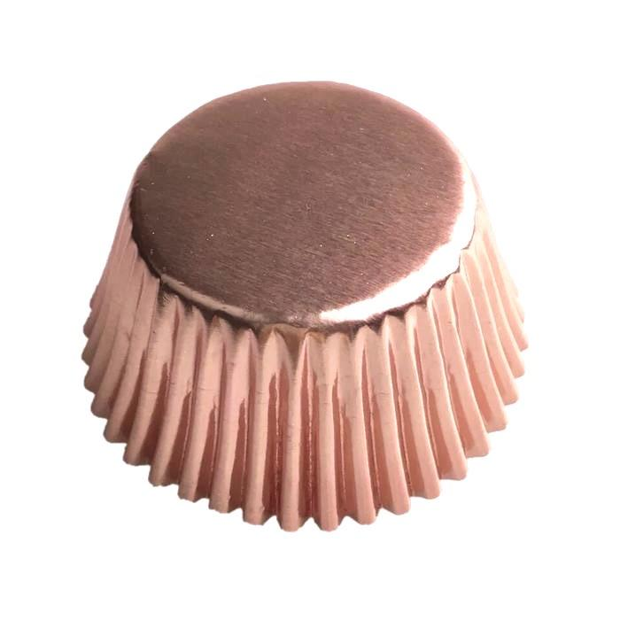 Rose Gold Standard Size Cupcake Wrappers & Liners-Wrappers & Liners-Bakell