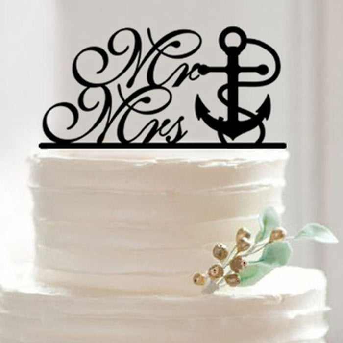 Sailboat Wedding Cake Toppers Adorable; Cute; Unique Wedding Cake Toppers; Mr and Mrs Beach Wedding Cake Toppers Water Cake Toppers