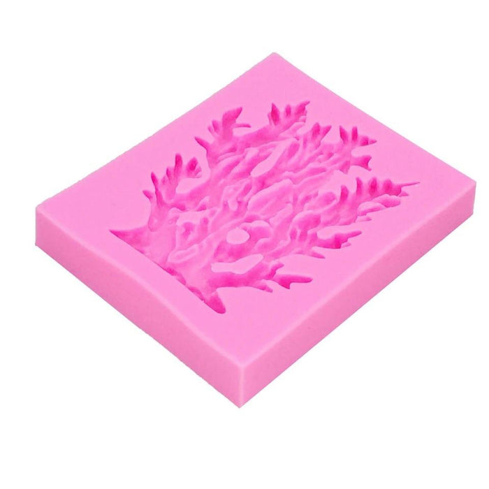 Sea Weed Plant Silicone Mold | 2.5 Inch-Silicone Molds-Bakell