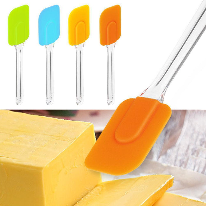 Silicone Scraper Spatula-Baking Supplies-Bakell- | Bakell.com