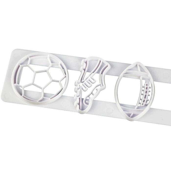Soccer Football Pattern Confectionery Cutter | Bakell.com