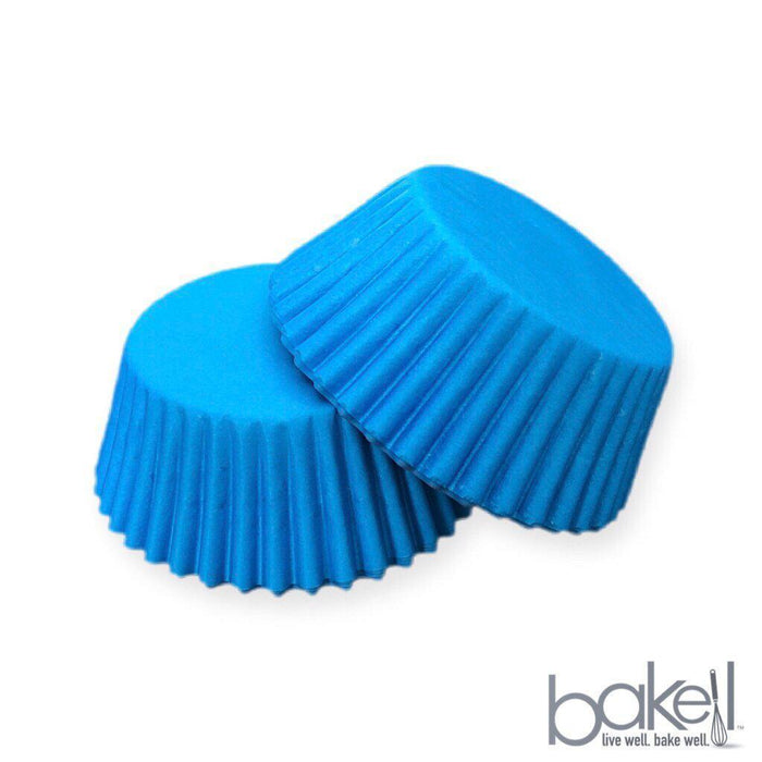 Solid Light Blue Cupcake Wrappers & Liners | Bakell.com