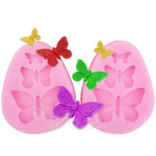 Spring Butterfly Silicone Mold-Silicone Molds-Bakell- | Bakell.com