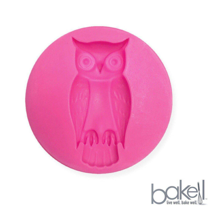 Standing Owl Silicone Mold 2 inches | Bakell-Silicone Molds-Bakell- | Bakell.com