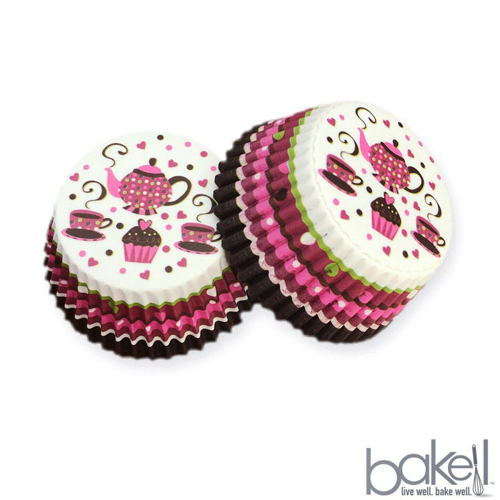 Solid Black Cupcake Wrappers & Liners | Bulk & Wholesale | Bakell.com